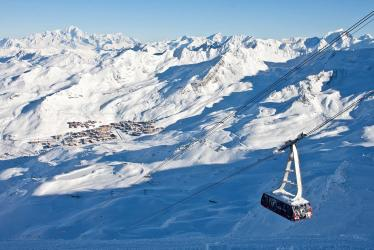 Ski adventure in the three valley
