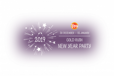 GOLD RUSH New Year Party