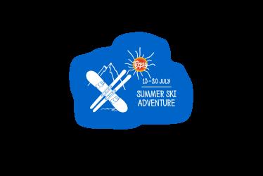 Summer ski adventure